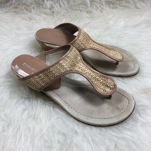 Donald J Pliner Woven Sandals
